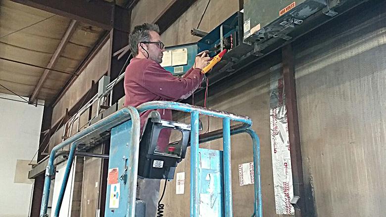 Testing electrical box